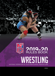 2019-20 NFHS Wrestling Rules Book Book Cover