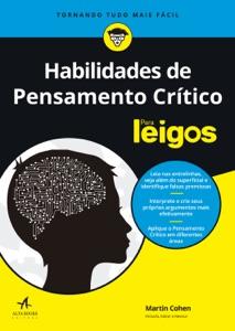 Habilidades de Pensamento Crítico Para Leigos Book Cover