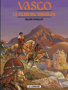 Vasco - Tome 21 - Le Clan Mac Douglas La couverture du livre martien