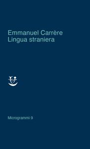 Lingua straniera Copertina del libro