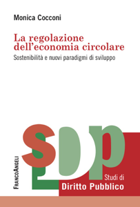 La regolazione dell'economia circolare Copertina del libro
