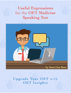 Useful Expressions for the OET Medicine Speaking Test Book Cover