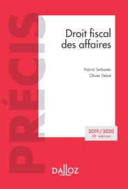Droit fiscal des affaires 2019/2020 - 18e éd.