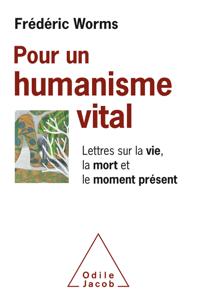 Pour un humanisme vital La couverture du livre martien