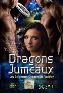 Dragons Jumeaux La couverture du livre martien