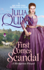 Julia Quinn - First Comes Scandal artwork
