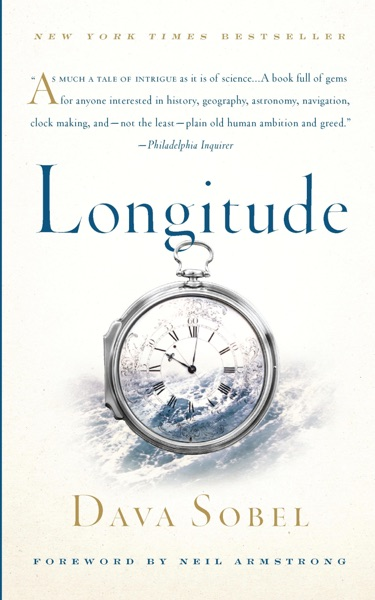 Longitude - Dava Sobel book cover