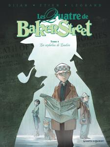 Les Quatre de Baker Street - Tome 04 La couverture du livre martien