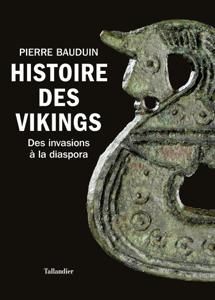 Histoire des Vikings La couverture du livre martien