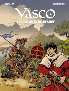 Vasco - tome 25 - Les Enfants du Vésuve La couverture du livre martien