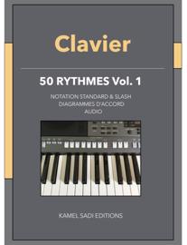 Clavier 50 Rythmes Vol. 1