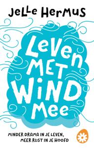 Leven met wind mee Boekomslag
