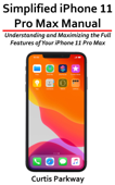 Simplified iPhone 11 Pro Max Manual Book Cover
