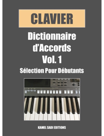 Clavier Dictionnaire Accords Vol. 1