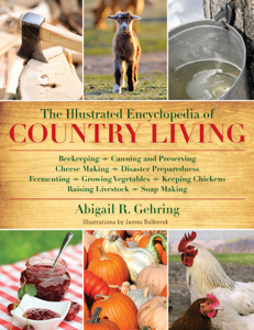 The Illustrated Encyclopedia of Country Living Book Cover