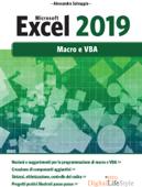 Microsoft Excel 2019 - Macro e VBA Book Cover