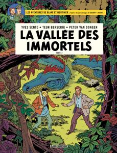 Blake & Mortimer - Volume 26 - La Vallée des immortels La couverture du livre martien