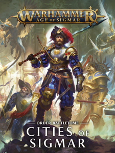Battletome: Cities Of Sigmar La couverture du livre martien