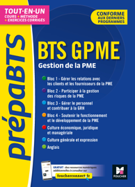 PrépaBTS - BTS Gestion de la PME - Toutes les matières - Révision et entrainement