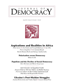 Populism and the Decline of Social Democracy