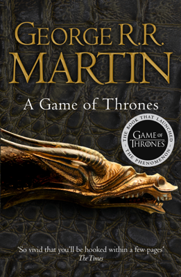 George R.R. Martin - A Game of Thrones book