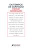 Paolo Giordano - En tiempos de contagio portada