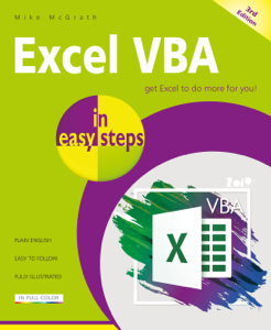 Excel VBA in easy steps, 3rd edition La couverture du livre martien