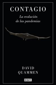 Contagio di David Quammen Copertina del libro