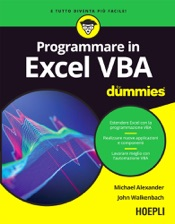 Programmare in Excel VBA For Dummies