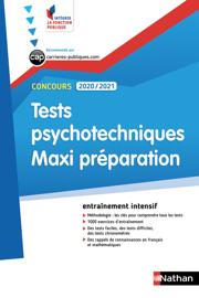 Tests psychotechniques Maxi préparation - Intégrer la fonction publique - 2019
