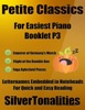 Petite Classics For Easiest Piano Booklet P3 – Emperor Of Germany's March Flight Of The Bumble Bee Fuga Aylesford Pieces Letter Names Embedded In Noteheads For Quick And Easy Reading