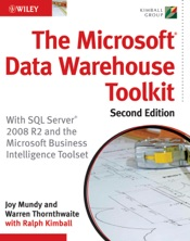 The Microsoft Data Warehouse Toolkit