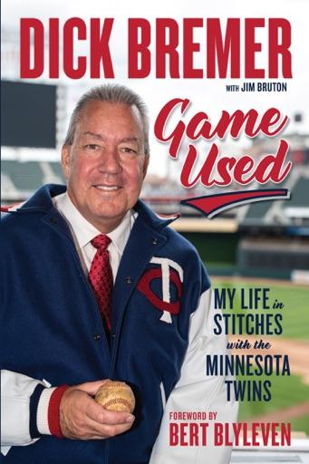 Dick Bremer: Game Used - Dick Bremer, Jim Bruton & Bert Blyleven