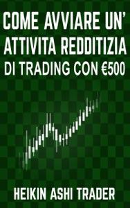 Come Avviare un'Attività Redditizia di Trading con €500 Book Cover