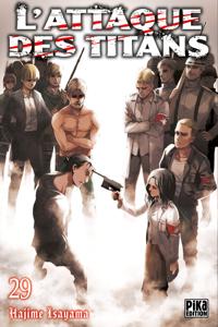 L'Attaque des Titans T29 La couverture du livre martien