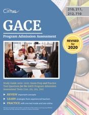 GACE Program Admission Assessment Study Guide 2020–2021