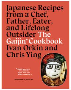 The Gaijin Cookbook La couverture du livre martien