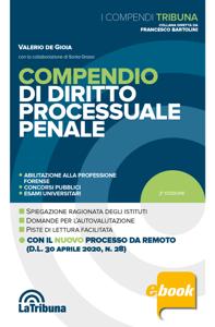 Compendio di diritto processuale penale Copertina del libro