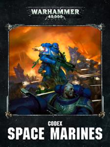 Codex: Space Marines (Enhanced Edition) La couverture du livre martien