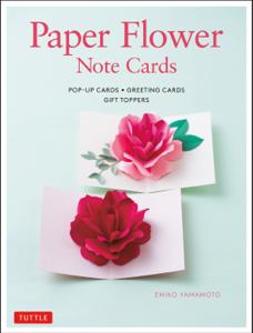 Paper Flower Note Cards Copertina del libro