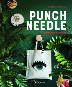 Punch needle La couverture du livre martien