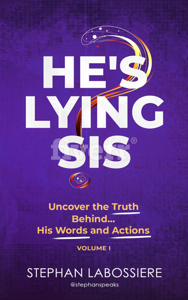 He's Lying Sis Book Cover