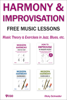 Ricky Schneider - HARMONY and IMPROVISATION FREE MUSIC LESSONS  artwork