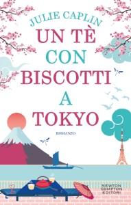 Un tè con biscotti a Tokyo di Julie Caplin Copertina del libro