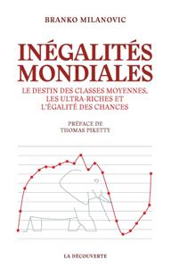 Inégalités mondiales La couverture du livre martien