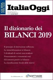 Il dizionario dei bilanci 2019