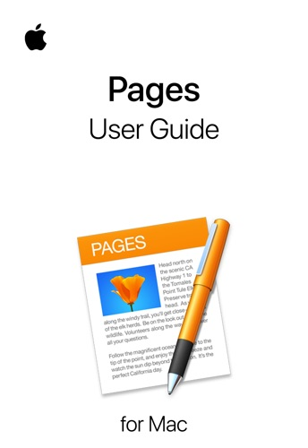 Pages User Guide for Mac