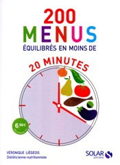 200 menus équilibrés en moins de 20 minutes