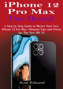 iPhone 12 Pro Max User Manual Book Cover