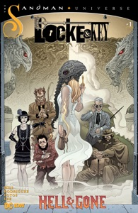 Locke & Key/Sandman: Hell & Gone #1 Book Cover